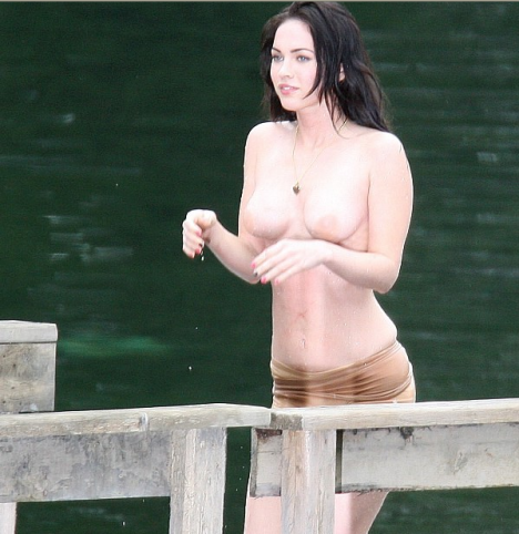 megan fox topless 1