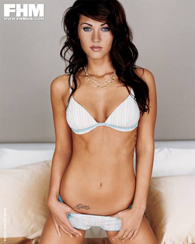 megan fox bra & panties 1