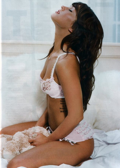 megan fox bra & panties 10