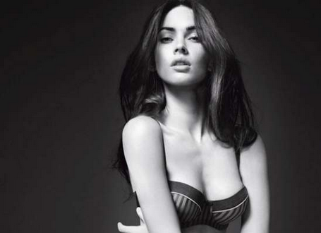 megan fox armani photoshoot. Here is Megan Fox in Armani